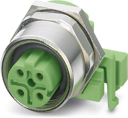 Sensor-/Aktor-Einbausteckverbinder M12 Buchse, Einbau Polzahl: 4 Phoenix Contact 1534630 SACC-DSIV-M12FSD-4CON-L90 10 S