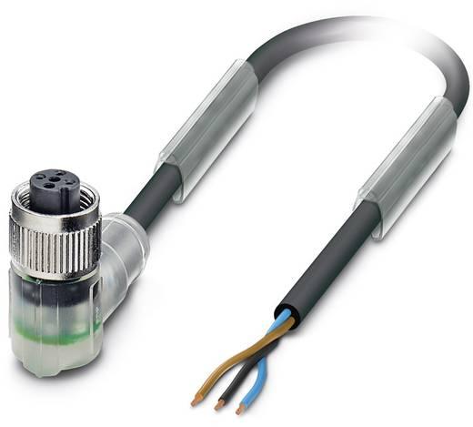 Sensor-/Aktor-Steckverbinder, konfektioniert M12 Buchse, gewinkelt 5 m Polzahl (RJ): 3 Phoenix Contact 1505041 SAC-3P- 5