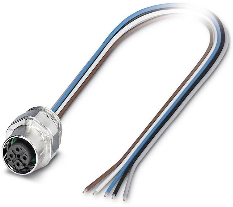Einbau 0.50 m Polzahl 5 1 St. Phoenix Contact 1671098 Sensor-//Aktor-Einbausteckverbinder M12 Buchse