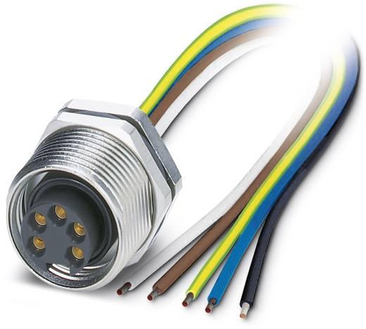 "Sensor-/Aktor-Einbausteckverbinder 7/8"" Buchse, Einbau 1 m Polzahl: 5 Phoenix Contact 1453805 SACC-DSI-MINFS-5CON-M26/1,"
