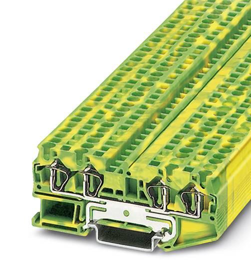 ST 4-QUATTRO-PE - Durchgangsreihenklemme ST 4-QUATTRO-PE Phoenix Contact Grün-Gelb Inhalt: 50 St.