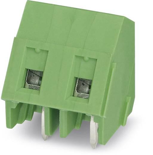 Schraubklemmblock 1.50 mm² Polzahl 3 GSMKDSP 1,5/ 3 Phoenix Contact Grün 250 St.