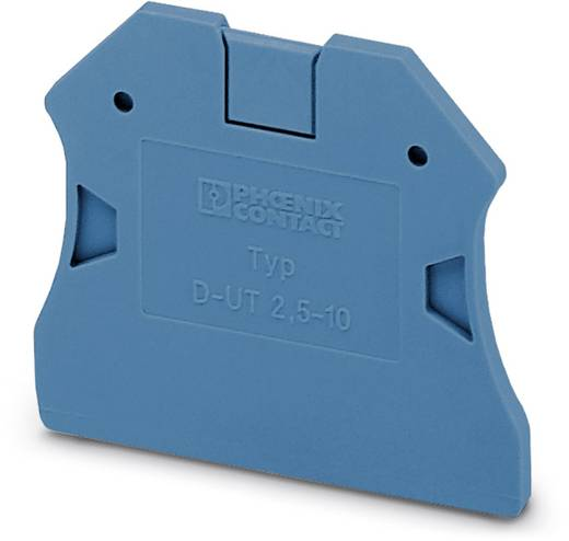 D-UT 2,5/10 BU - Abschlussdeckel D-UT 2,5/10 BU Phoenix Contact Inhalt: 50 St.