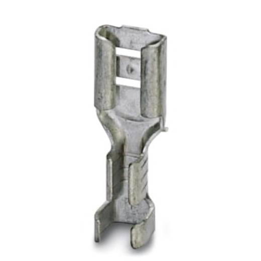 Flachsteckhülse Steckbreite: 4.8 mm Steckdicke: 0.5 mm 180 ° Unisoliert Metall Phoenix Contact 3240157 100 St.