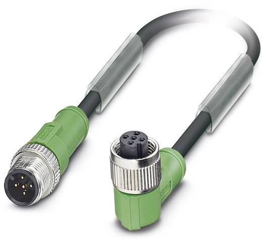 Sensor-/Aktor-Steckverbinder, konfektioniert M12 Stecker, gerade, Buchse, gewinkelt 1.50 m Polzahl: 5 Phoenix Contact 16