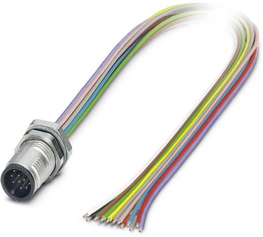Sensor-/Aktor-Einbausteckverbinder M12 Stecker, Einbau 0.50 m Polzahl (RJ): 12 Phoenix Contact 1437122 SACC-DSI-MS-12CON