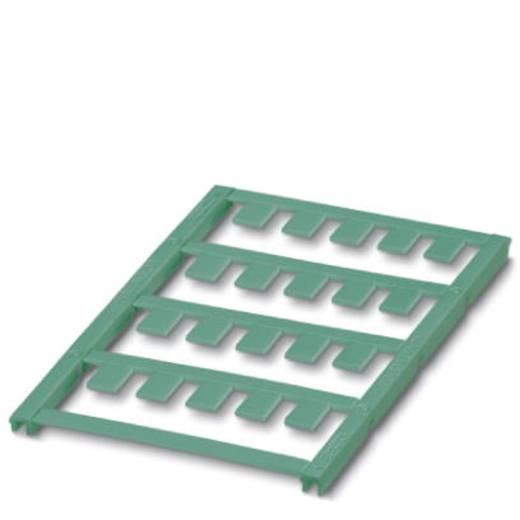Gerätemarkierung Montage-Art: aufclipsen Beschriftungsfläche: 20 x 7 mm Passend für Serie Geräte und Schaltgeräte Türkis