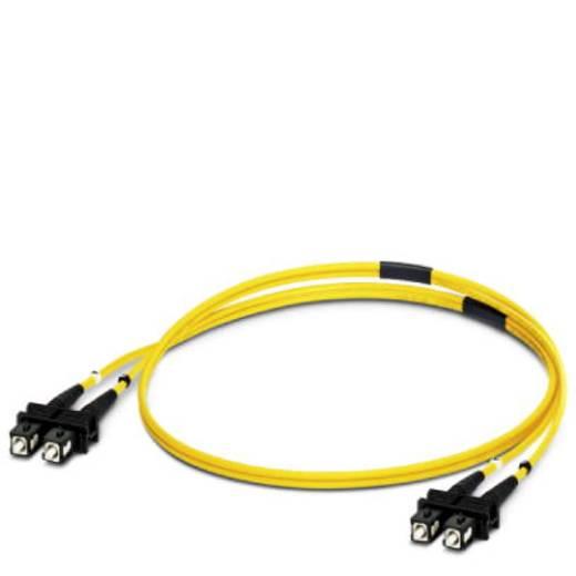 Glasfaser LWL Anschlusskabel [1x SC-Stecker - 1x SC-Stecker] 9/125µ Singlemode OS1 2 m Phoenix Contact