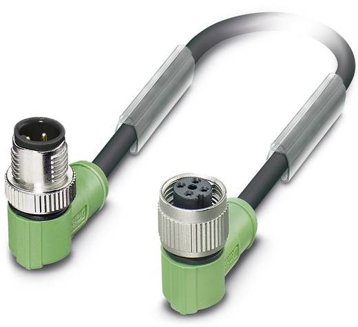 Sensor-/Aktor-Steckverbinder, konfektioniert M12 Buchse, gerade 10 m Polzahl (RJ): 4 Phoenix Contact 1538911 SAC-4P-10,0