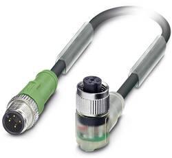 Câble pour capteurs/actionneurs Phoenix Contact SAC-4P-M12MS/0,6-PUR/M12FR-3L 1668522 Conditionnement: 1 pc(s)