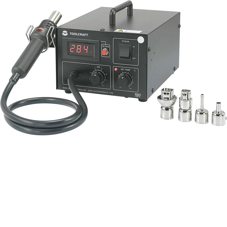 Heißluftstation digital 550 W TOOLCRAFT AT850D +100 bis +480 °C