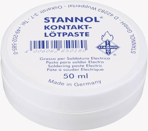 Lötpaste Stannol 165018 Inhalt 50 g F-SW 26