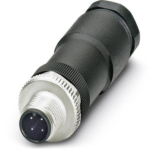 Sensor-/Aktor-Steckverbinder, unkonfektioniert M12 Stecker, gerade Polzahl: 4 Phoenix Contact 1507052 SACC-M12MS-4CON-P