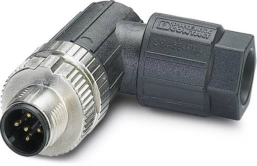 Sensor-/Aktor-Steckverbinder, unkonfektioniert M12 Stecker, gewinkelt Polzahl: 5 Phoenix Contact 1432570 SACC-MR-5SC M