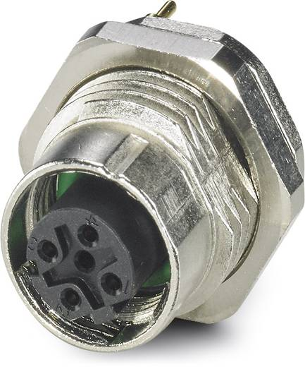 Sensor-/Aktor-Einbausteckverbinder M12 Buchse, Einbau Polzahl: 4 Phoenix Contact 1441875 SACC-DSI-M12FSD-4CON-M16 SH 20