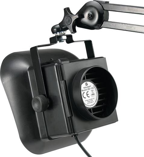 Lötrauchabsaugung TOOLCRAFT ZD-153A 230 V/AC 23 W 60 m³/h