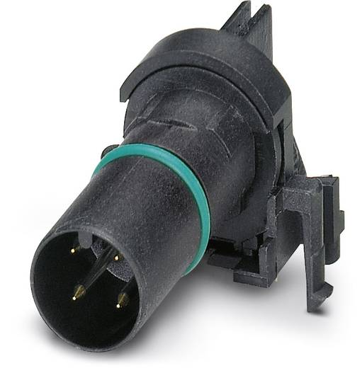 Sensor-/Aktor-Einbausteckverbinder M12 Kontaktträger Polzahl (RJ): 4 Phoenix Contact 1436660 SACC-CI-M12MS-4CON-L90 SCO