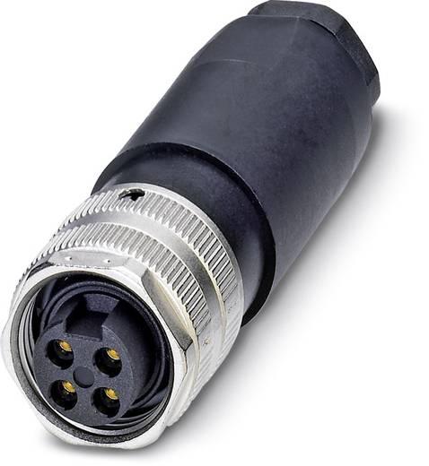 "Sensor-/Aktor-Steckverbinder, unkonfektioniert 7/8"" Buchse, gerade Polzahl (RJ): 4 Phoenix Contact 1521355 SACC-MINFS-4"