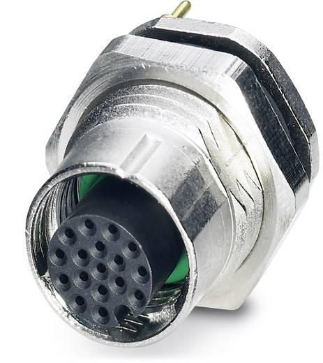 Sensor-/Aktor-Einbausteckverbinder M12 Buchse, Einbau Polzahl (RJ): 17 Phoenix Contact 1436806 SACC-DSI-FS-17CON-L180 S