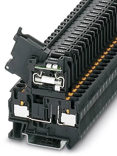 PT 4-HESILED 24 (5X20) - Sicherungsreihenklemme PT 4-HESILED 24 (5X20) Phoenix Contact Schwarz Inhalt: 50 St.