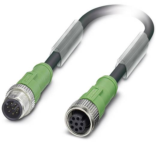 Sensor-/Aktor-Kabel SAC-8P-M12MS/ 3,0-PUR/M12FS Phoenix Contact Inhalt: 1 St.