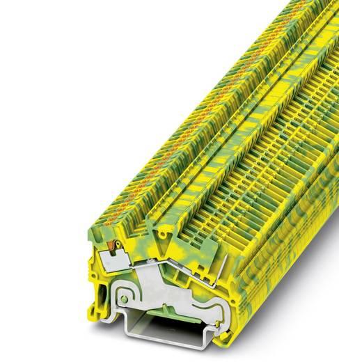 PTS 1,5/S/1P-PE - Schutzleiter-Reihenklemme PTS 1,5/S/1P-PE Phoenix Contact Grün-Gelb Inhalt: 50 St.