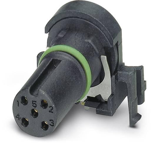 Sensor-/Aktor-Einbausteckverbinder M12 Buchse, Einbau Polzahl (RJ): 5 Phoenix Contact 1432431 SACC-CI-FS-5CON-L 90 SH S