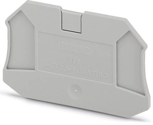 D-UT 2,5/4-QUATTRO - Abschlussdeckel D-UT 2,5/4-QUATTRO Phoenix Contact Inhalt: 50 St.