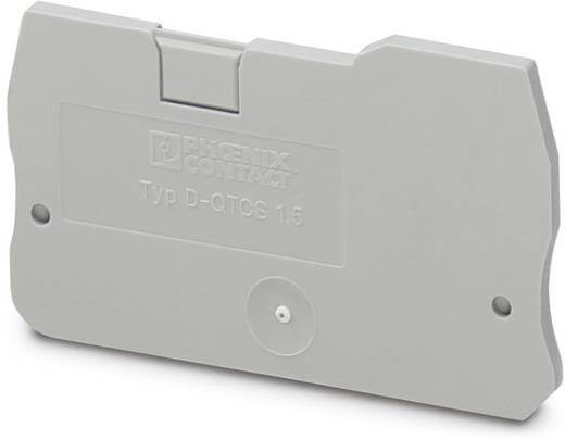 D-QTCS 1,5 - Abschlussdeckel D-QTCS 1,5 Phoenix Contact Inhalt: 50 St.