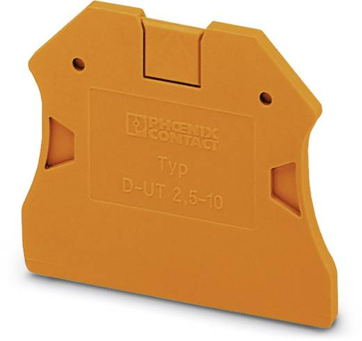 D-UT 2,5/10 OG - Abschlussdeckel D-UT 2,5/10 OG Phoenix Contact Inhalt: 50 St.