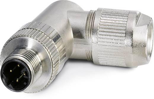 Sensor-/Aktor-Datensteckverbinder M12 Stecker, gewinkelt Polzahl (RJ): 4 Phoenix Contact 1553624 SACC-M12MRD-4Q SH 1 St