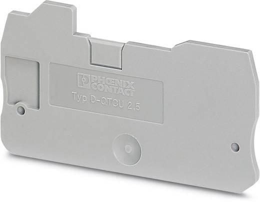 D-QTCU 2,5 - Abschlussdeckel D-QTCU 2,5 Phoenix Contact Inhalt: 50 St.