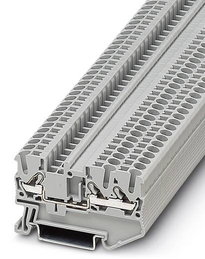 DT 2,5-TWIN - Durchgangsreihenklemme DT 2,5-TWIN Phoenix Contact Grau Inhalt: 50 St.