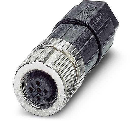Sensor-/Aktor-Steckverbinder, unkonfektioniert M12 Buchse, gerade Polzahl: 5 Phoenix Contact 1432583 SACC-FS-5SC M SCO