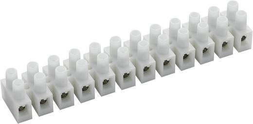 Lüsterklemme flexibel: 4-10 mm² starr: 4-10 mm² Polzahl: 12 589023 10 St. Weiß