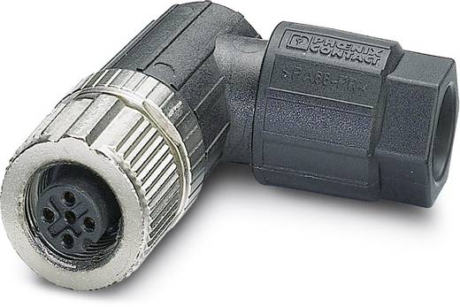 Sensor-/Aktor-Steckverbinder, unkonfektioniert M12 Buchse, gewinkelt Polzahl (RJ): 5 Phoenix Contact 1432596 SACC-FR-5S