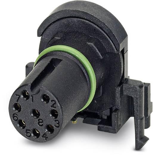 Sensor-/Aktor-Einbausteckverbinder M12 Buchse, Einbau Polzahl (RJ): 8 Phoenix Contact 1436990 SACC-CI-M12FS-8CON-L90 SC