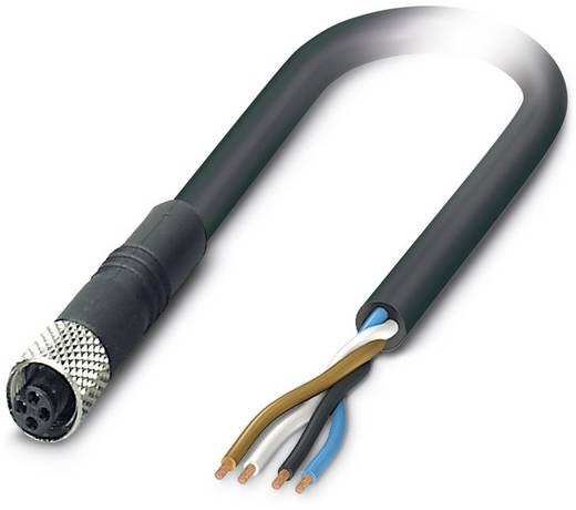 Sensor-/Aktor-Steckverbinder, konfektioniert M5 Buchse, gerade 5 m Polzahl (RJ): 4 Phoenix Contact 1530485 SAC-4P- 5,0-P