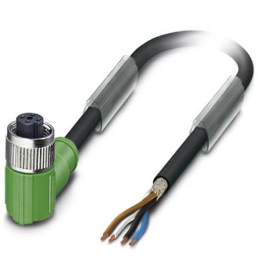 Sensor-/Aktor-Steckverbinder, konfektioniert M12 Buchse, gewinkelt 3 m Polzahl (RJ): 4 Phoenix Contact 1682919 SAC-4P- 3