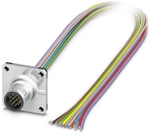 Sensor-/Aktor-Einbausteckverbinder M12 Stecker, Einbau 0.50 m Polzahl (RJ): 12 Phoenix Contact 1441587 SACC-SQ-M12MS-12C