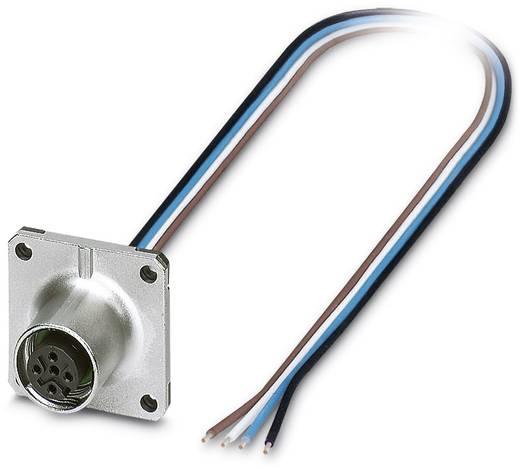 Sensor-/Aktor-Einbausteckverbinder M12 Buchse, Einbau Polzahl (RJ): 4 Phoenix Contact 1419797 SACC-SQ-M12FS-4CON-20/0,5