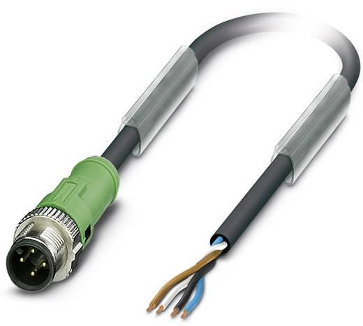 Sensor-/Aktor-Steckverbinder, konfektioniert M12 Stecker, gerade 3 m Polzahl: 4 Phoenix Contact 1518818 SAC-4P-MS/ 3,0-P