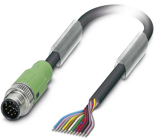 Sensor-/Aktor-Steckverbinder, konfektioniert M12 Stecker, gerade 3 m Polzahl (RJ): 12 Phoenix Contact 1430543 SAC-12P-MS