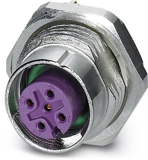 Sensor-/Aktor-Einbausteckverbinder M12 Buchse, Einbau Polzahl (RJ): 5 Phoenix Contact 1456501 SACC-DSI-FS-5CON-L180/SH