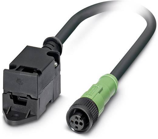 Sensor-/Aktor-Datensteckverbinder, konfektioniert M12 SPEEDCON Stecker, gerade, Buchse, gerade 3 m Polzahl (RJ): 2 Phoe