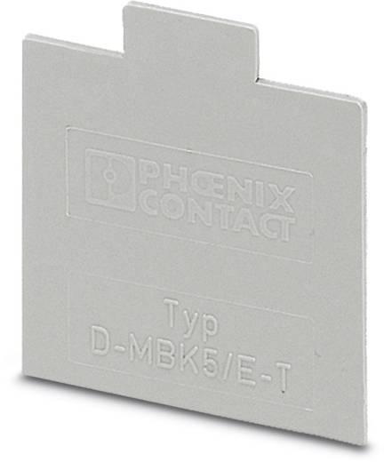 D-MBK 5/E-T - Abschlussdeckel D-MBK 5/E-T Phoenix Contact Inhalt: 50 St.