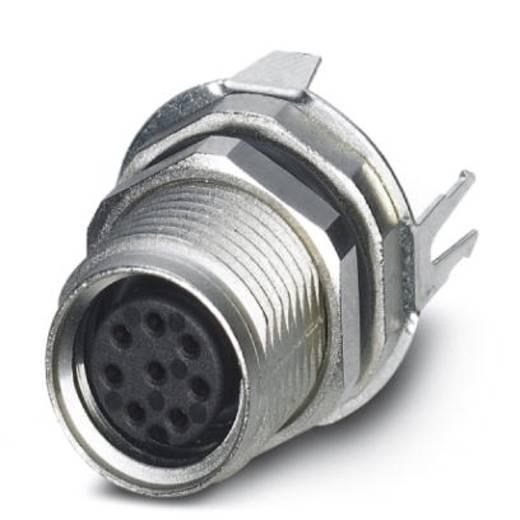 Sensor-/Aktor-Einbausteckverbinder M8 Buchse, Einbau Polzahl (RJ): 8 Phoenix Contact 1424235 SACC-DSI-M8FS-8CON-M10-L18