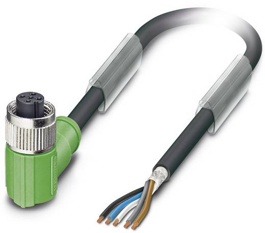 Sensor-/Aktor-Steckverbinder, konfektioniert M12 Buchse, gewinkelt 1.50 m Polzahl (RJ): 5 Phoenix Contact 1682964 SAC-5P