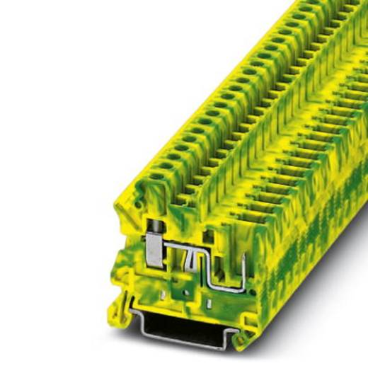 UT 4/ 1P-PE - Schutzleiter-Reihenklemme UT 4/ 1P-PE Phoenix Contact Grün-Gelb Inhalt: 50 St.