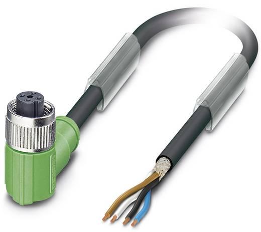 Sensor-/Aktor-Steckverbinder, konfektioniert M12 Buchse, gewinkelt 5 m Polzahl (RJ): 4 Phoenix Contact 1682922 SAC-4P- 5